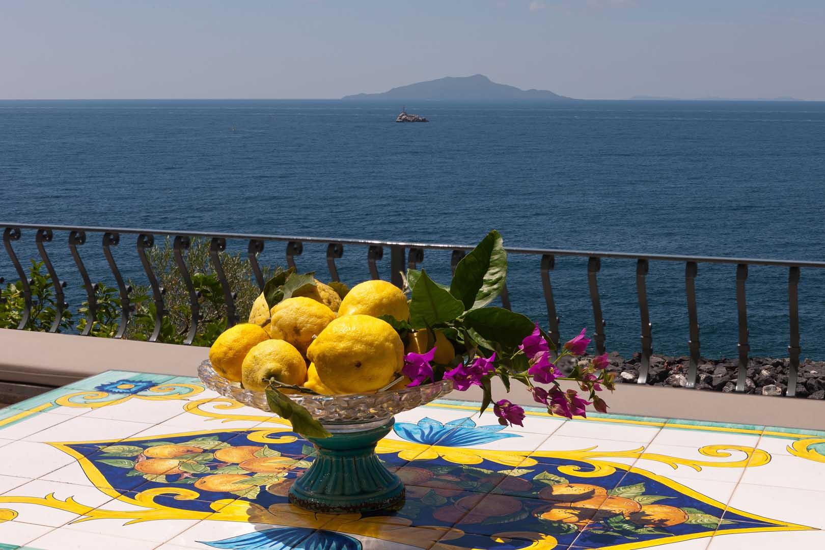Villa Biancalisa, luxury villa on the Sorrentine Peninsula