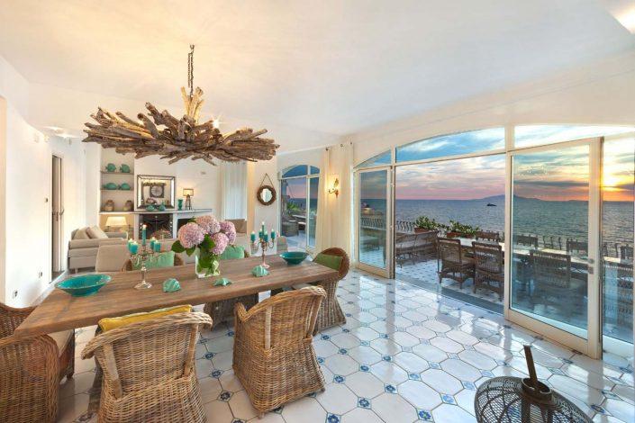 Villa Biancalisa Sorrento Coast South Italy sea view
