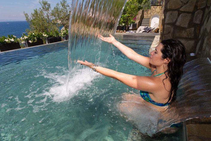 Villa Biancalisa Sorrento heated pool