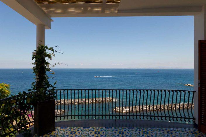 Villa Biancalisa Sorrento in front of Capri