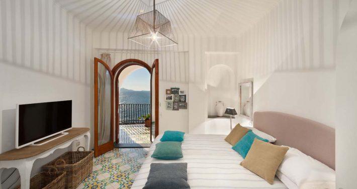 Villa Biancalisa Camera doppia vista mare